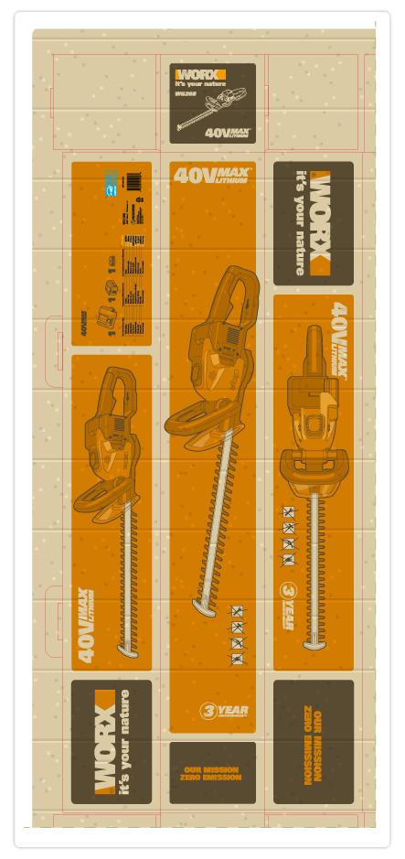 illustrazione per packaging