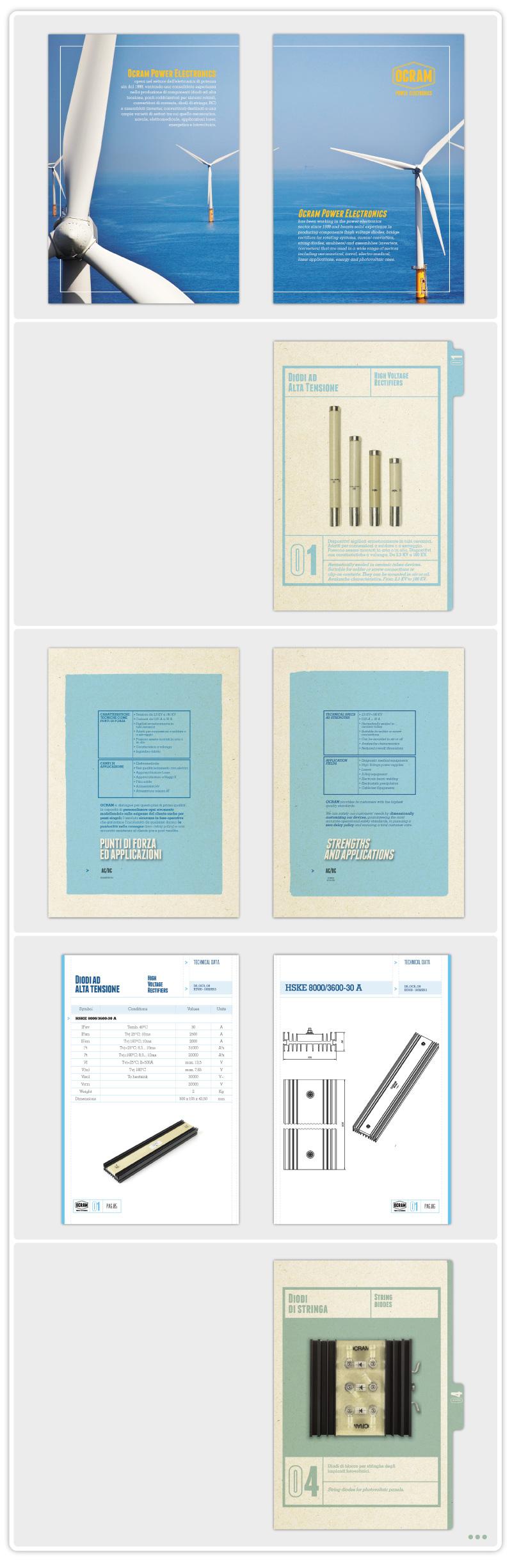 OCRAM technical catalogue