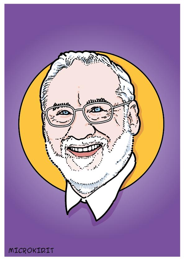 Joseph Stiglitz portrair ritratto